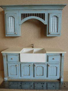 Mollysue Miniatures - sieht genauso aus wie die Küche die aus Pappe gemacht wird