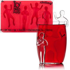 ICY DEAD PEOPLE ICE CUBE TRAY