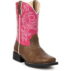Durango's Kid's Lil Partners Cowgirl Boots