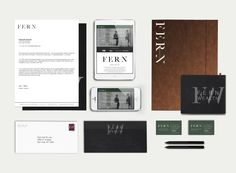 Brand Identity Design for Fern Wealth by Julie Harris Design