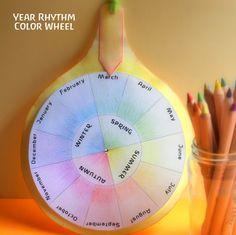 Rhythm Wheel of the Year - free download