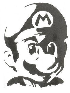 art graffiti cartoon nintendo mario Super Mario mushroom Super