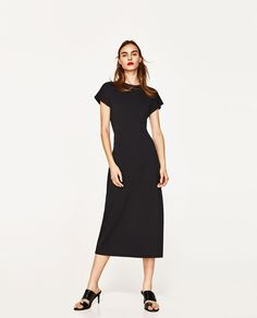 ZARA - WOMAN - LONG DRESS WITH KNOTTED BACK