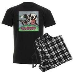 Heavy #Cream #Pajamas #humor #nightware by @LTCartoons @cafepress #clapton #music #cows #sale #gift 20%off Code NORTHPOLE20