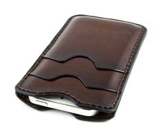 ITALIAN  iPhone 5s/5  Leather Case. by GiordanoArtLeather on Etsy