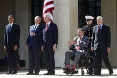 By Tom Curry, National Affairs Writer, NBC News Giving a broad-strokes defense of his eight years in the White House, former president George W. Bush celebrated the dedication of his the Bush Presidential Library and Museum in Dallas on Thursday.&nbs