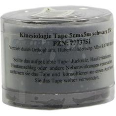 KINESIOLOGIE Tape 5 cmx5 m schwarz:   Packungsinhalt: 1 St PZN: 07773751 Hersteller: Römer-Pharma GmbH Preis: 8,31 EUR inkl. 19 % MwSt.…