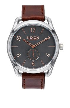 C45 Leather - Rose Gold / Brown | Nixon