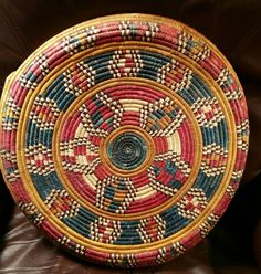 Check out this item in my Etsy shop https://www.etsy.com/listing/478450943/woven-tribal-ethnic-round-pinwheel