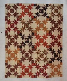 Quilts In The Barn: My latest stitching.