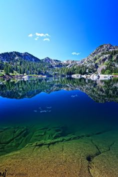 ✮ Lake Mary in the Wasatch Mountains - Utah - Incredible Photo!