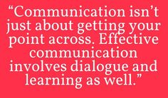 Real Talk  #effective #communication #involvement #dialogue #learnings