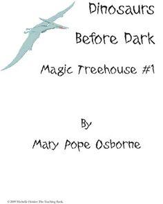 Polar Bears Past Bedtime (Magic Treehouse) Comprehension Q