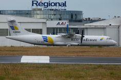 West Air Europe Cargo ATR72-100 freighter (LX-WAB)
