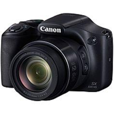 Canon PowerShot SX530 HS 16 Megapixel Compact Camera - Black - 3 LCD - 16:9 - 50x Optical Zoom - 4x - Optical (IS) - TTL - 4608 x 3456 Image - 1920 x 1080 Video - HDMI - PictBridge - HD Movie Mode - Wireless LAN