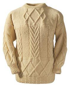 b28fc62127a03 Boyle Hand Knit Irish Sweaters Cable Knitting
