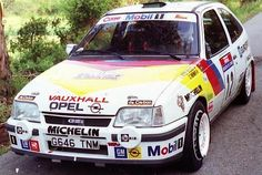 Opel Kadett GSi Rally Sport Cars, Race Cars, Olympia, John Collins, Opel Adam, Gm Car, Classic Sports Cars, Nostalgia, Rally Car