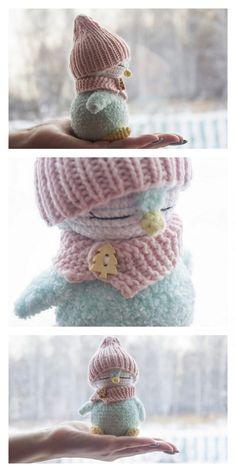 Christmas Crochet Patterns, Crochet Animal Patterns, Stuffed Animal Patterns, Crochet Patterns Amigurumi, Crochet Animals, Crochet Dolls, Knit Or Crochet, Cute Crochet, Crochet Crafts