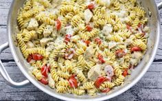 You can make this chicken pasta dish in just 20 minutes.
