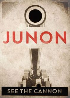 Final Fantasy VII Limited Edition Second Junon Poster.  Junon. See the cannon.