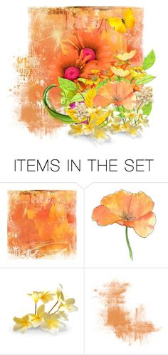 """""""Flower Power"""" by youaresofashion ❤ liked on Polyvore featuring art"""