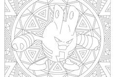 Adult Pokemon Coloring Page Elekid