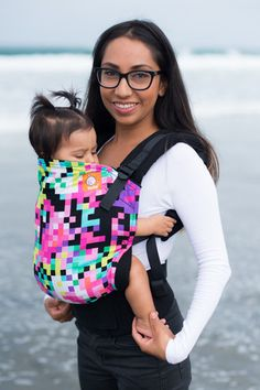 Canvas - Tula Release 'Pixelated' TULA BABY CARRIER