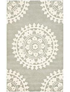 Soho Light Grey/Ivory Rug #decor