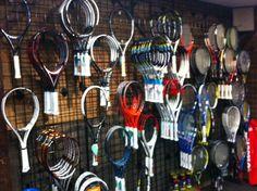 Head, Prince, Wilson, and Babolat tennis rackets  www.pedigreeskishop.com