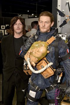 Seeing Stars: Norman Reedus, Christian Bale, and more great celebrity photos Death Stranding Norman Reedus, The Walking Dead, Celebrity Photos, Celebrity News, Dead Stranding, Death Stranding Ps4, Cuadros Star Wars, Kojima Productions, Bionic Woman