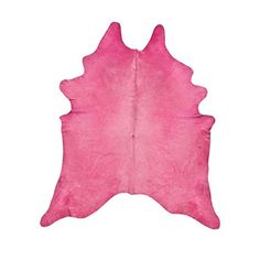 Kuhfell Teppich gefärbt Fuchsia Rosa Tapis en Peau de Vac...…