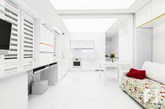 Meble w połyskującej bieli do mieszkania od 3TOP Meble http://superstolarz.pl/blog/meble-w-polyskujacej-bieli-do-mieszkania-od-3top-meble