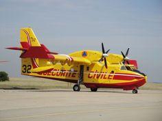 Sécurité civile - Canadair CL-415