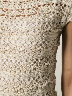 Crochetemoda: Vestido de Crochet Stella Pardo Mais