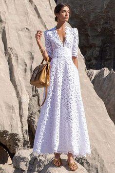 Lace Dresses, Pretty Dresses, Casual Dresses, Fashion Dresses, Short Dresses, Summer Dresses, White Maxi Dresses, Dress Outfits, Gareth Pugh