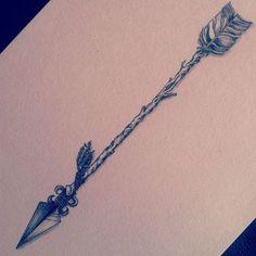 Arrow tattoo: