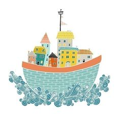 Amy Blackwell At Home on the Sea $20