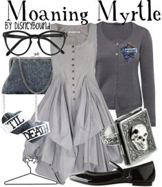 Moaning Myrtle so cute!! i want this outfit