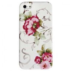 $2.49 Unique Flowers Protective Plastic Hard Case Cover for iPhone 5