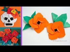 Origami Flower (Spanish Eye) :: Flor -Ojo de Venus - YouTube
