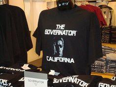 """""""The Governator"""" Arnold Schwartzenegger t-shirt"""