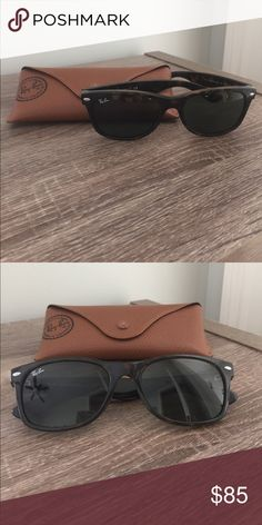 b265cda016 Ray Ban New Wayfarer Tortoise coloring with minimal surface scratches on  lens. Comes with original