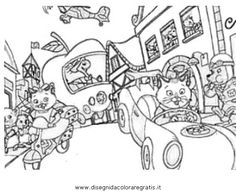 richard scarry preschool coloring pages - photo#20