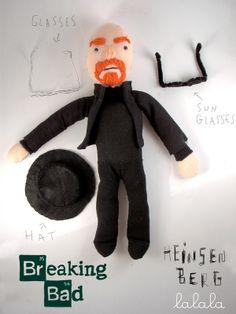Mr. Heisenberg by Lalala Toys , via Behance