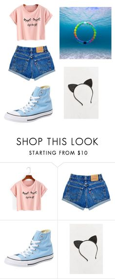 Untitled #11 by lemonitadr on Polyvore featuring WithChic, Converse and Urban Outfitters
