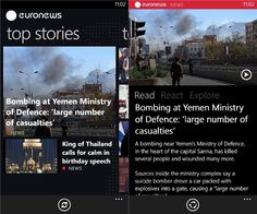 'Euronews' app comes to Windows Phone