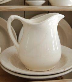 Small ironstone pitcher