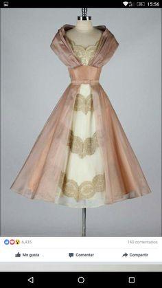 c8818c084e09 Vintage Cocktail Dress, Vintage Evening Dresses, Beautiful Cocktail Dresses,  Cocktails Vintage, Vintage