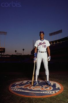 Mets Outfielder Darryl Strawberry, circa 1984.