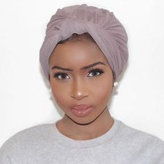 Turbans are always a good idea..
